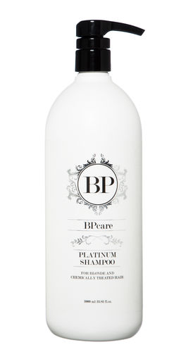 BPcare Platinum Shampoo 1000ml pumppupullo