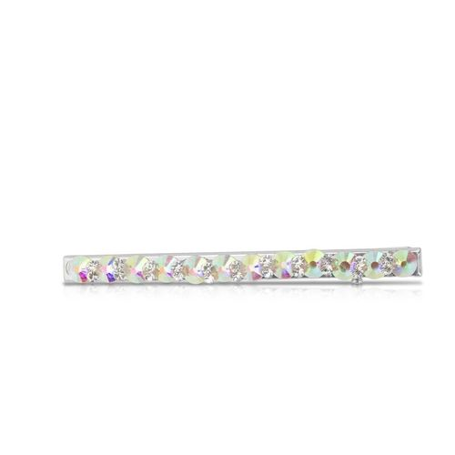 BP Accessories Winter Edition Glitter Hair Clip Rainbow