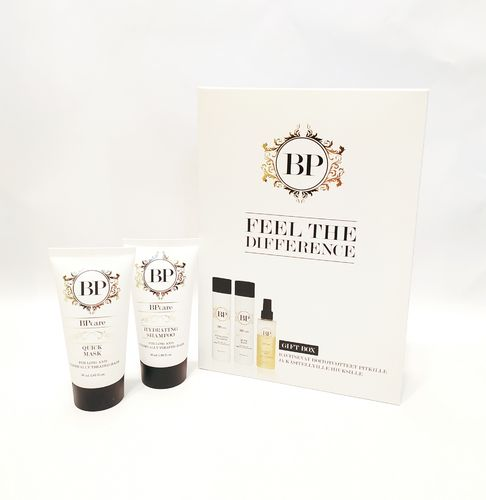 BPcare Gift Box for long and chemically treated hair + travel box
