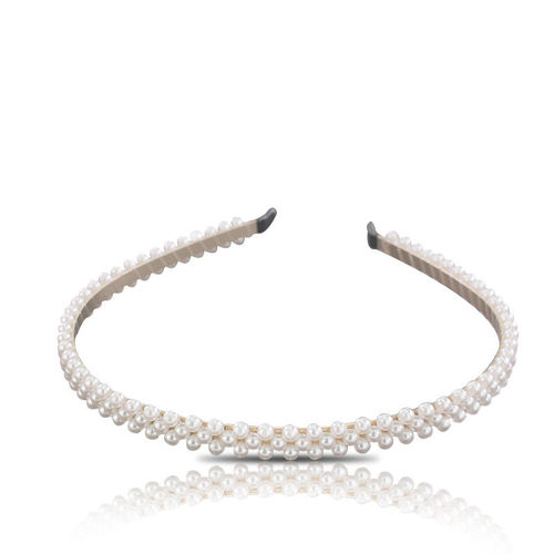 BP Accessories Pearl Headband Gold