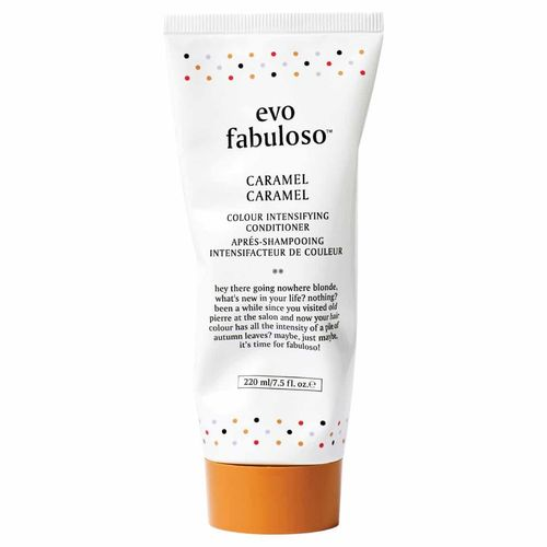 evo fabuloso caramel colour boosting treatment 220 ml