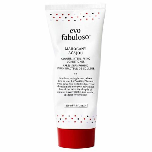 evo fabuloso mahogany colour boosting treatment 220 ml