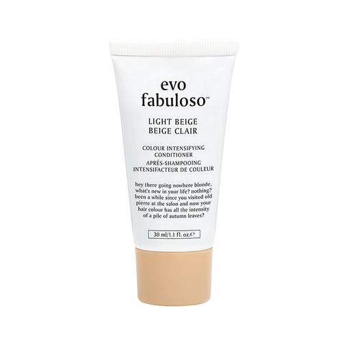 evo fabuloso light beige colour boosting treatment 30ml